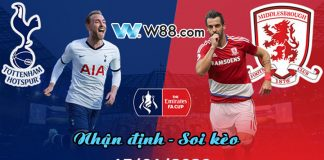 Nhận định Tottenham vs Middlesbrough - 15/1/2020 - 3h05' - FA Cup