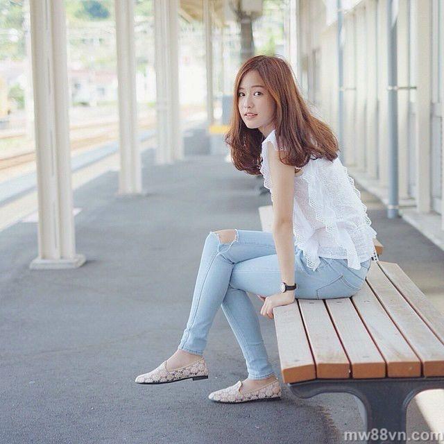 vẻ đẹp ngọt ngào của hot girl thái lan nổi tiếng nhất instagram